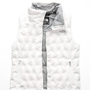 The North Face Holladown Crop Puffer Vest Sz Med